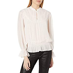 Joie womens19-5-A48H-TP03468Long Sleeve Blouse Shirt