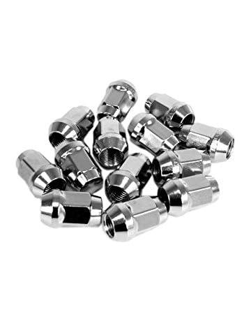 20 unidades para tuercas M12 x 1.25, cono cintura 60 °/galvanizado Tuerca/