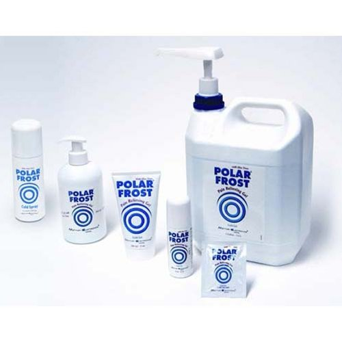 Polar Frost Pain Relieving Cold Gel - Polar Frost, pump b...