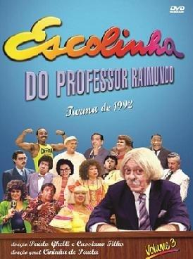 dvd da escolinha do professor raimundo turma de 1992