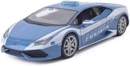 YN モデルカー ブルーモデルカーランボルギーニLP610スポーツカーモデル1:24比例ダイカストモデル玩具モデル装飾ギフトコレクション趣味 ミニカー
