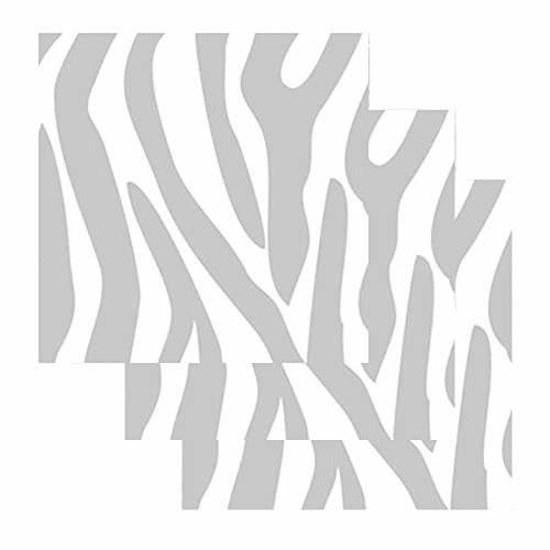 Zebra Print Sticky Notes - Set of 3 - Animal Theme Design - Stationery Gift - Paper Memo Pad - Office Business School Supplies