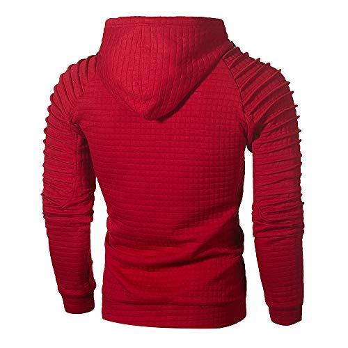 Buy inc men striped hooded sweater