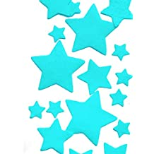 Edible Wafer Gluten GMO Dairy Sugar Nut Soy Free Blue Stars
