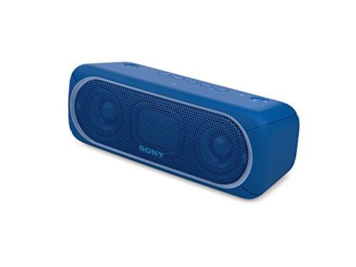 41VSL2Wv9UL - Sony SRSXB30/BLUE Portable Wireless Speaker with Bluetooth, Blue