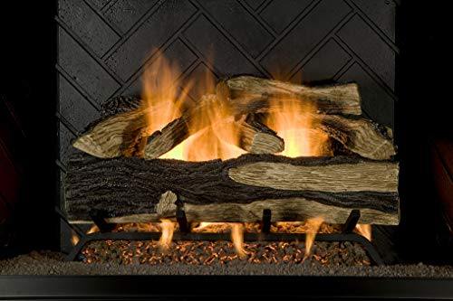 Sure Heat SH24DBRNL-60 Vented Gas Fireplace Logs