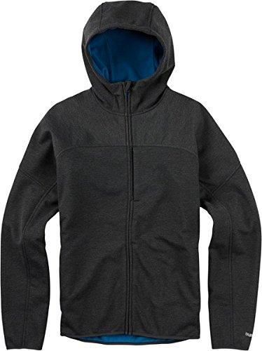 Burton Men's Chill Soft Shell Jacket, True Black, -