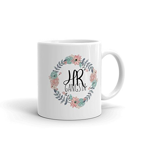 Human Resources Gift Mug Funny HR Mug HR Gangsta Funny HR Gift