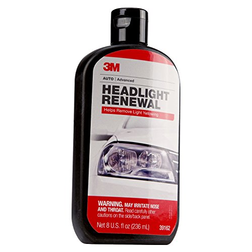 3M 39162 Headlight Renewal, 8 - Remove Scratches Lenses From Plastic