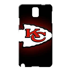 samsung note 3 High Shockproof style mobile phone carrying skins kansas city chiefs nfl football
