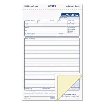 order form amazon  Amazon.com : Snap-Off Job Work Order Form, 6 6/6 x 6 6/6 ...