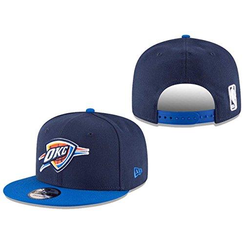 NBA Oklahoma City Thunder Adult Men NBA 9Fifty 2Tone Snapback (Nba Baseball Hat)