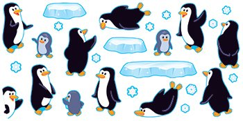 Playful Penguins Bb Set (Trend Educational Products)