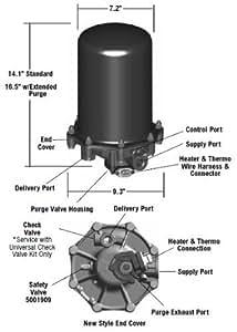 Amazon Com Bendix Ad 9 Air Dryer 109685x Reman Automotive