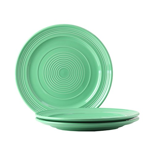 Green Round Platter (Tuxton Home Concentrix Round Serving Plate (Set of 3), 12