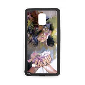 Samsung galaxy note 4 N9100 Oil painting Phone Back Case Custom Art Print Design Hard Shell Protection MN075890