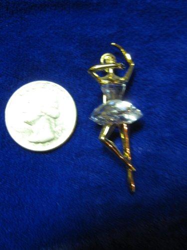 Swarovski Crystal ..... Ballerina Broach