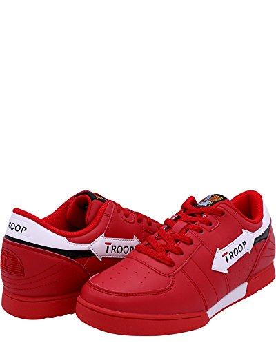 Sneakers Corte Da Truppa Corti, Rosse, 7,5 Navy / Rosse