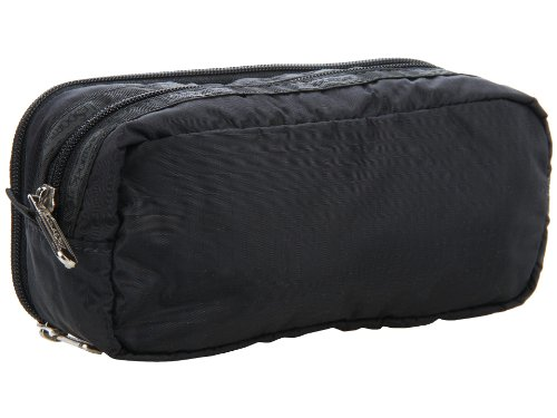 - LeSportsac Kevyn Cosmetic Case, Black Patent, One Size