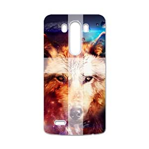 Cute Printed Howling Wolf Pattern Angry Wolves Werewolf Custom case cover for LG G3