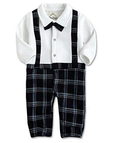 EGELEXY Formal Tuxedo Sleeve One Piece product image