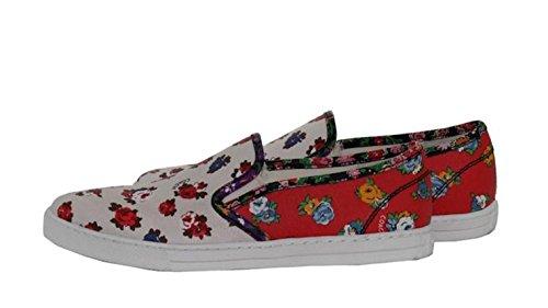 Entrenador Parkside Slip On Sneaker Style Q9100 Bue Size 9.5