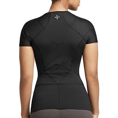Tommie Copper Women's Pro-Grade Shoulder Centric Support Shirt, Black, Medium by Tommie Copper (Image #3)