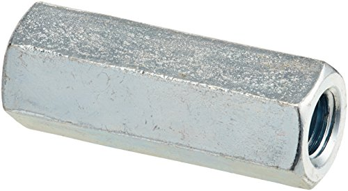 Forney 49730 Galvanized All-Thread Rod Coupler, 3/8