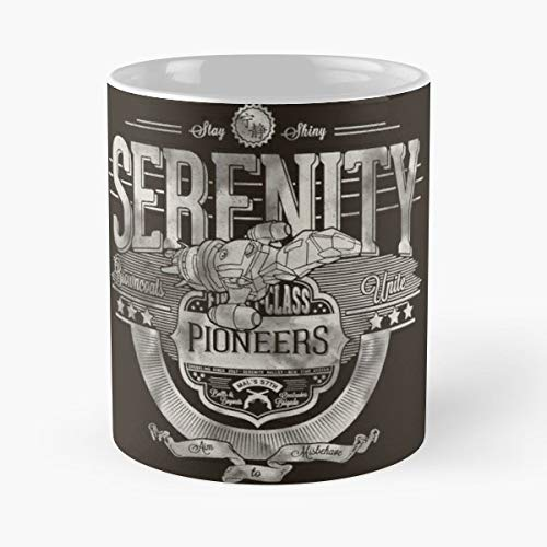 Serenity Firefly Space Captain - Coffee Mug-11 Oz,white Unique Birthday Gift-the Best Gift For Holidays. -
