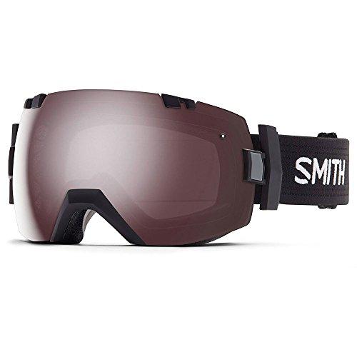 Smith I/O X Snow Goggle - Men's Black with Ignitor Mirror Lens -