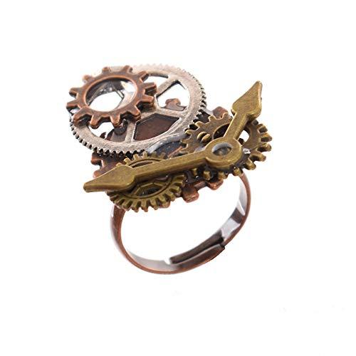 GRACEART Handmade Steampunk Gears Ring (Style-03) from GRACEART