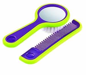 Bebe confort 32000163 cepillo con espejo y peine p rpura dorel beb - Espejo coche bebe amazon ...