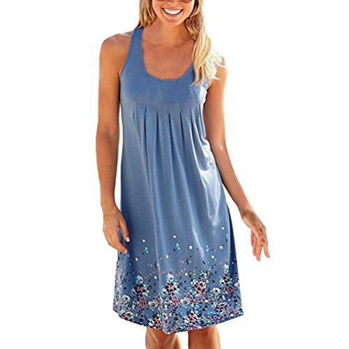 Buy light blue a line dress - 7
