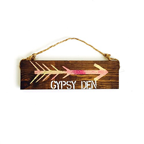 Ruskin352 Gypsy Den sign beautiful anthropologie urban, used for sale  Delivered anywhere in USA