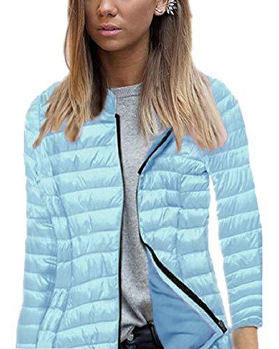 Donne Caldo Piumino Leggero 1 Delle Di Puffer Impermeabile Sicurezza Outwear Cappotto 5qAw0F