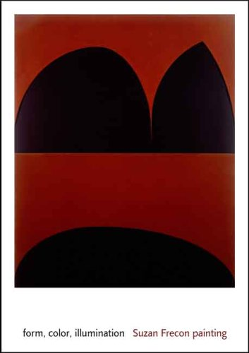 form, color, illumination: Suzan Frecon painting (Menil Collection)