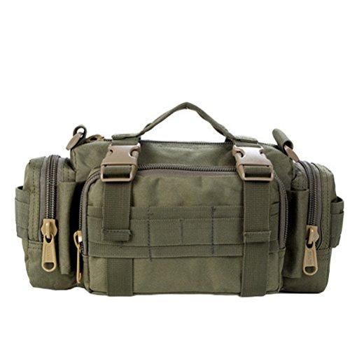 Matchlife, Camouflage Sac à dos pour femme6 Vert militaire