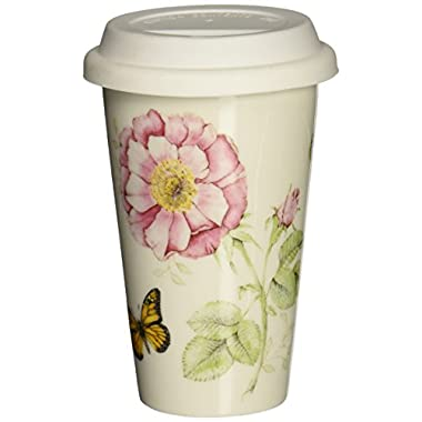 Lenox Butterfly Meadow Thermal Travel Mug -10 oz