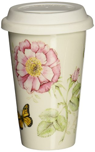 Lenox Butterfly Meadow Thermal Travel Mug -10 (Exquisite Porcelain)