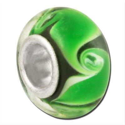 Bauble LuLu Beads Grass Swirls Large Hole ()