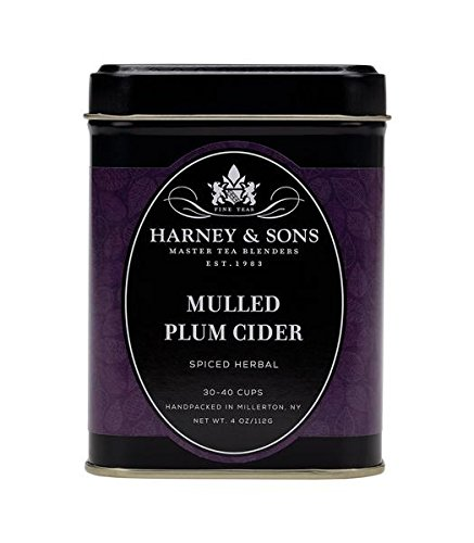 Harney and Sons Mulled Plum Cider Tea, 4 - Delicious Plum Tea Spice