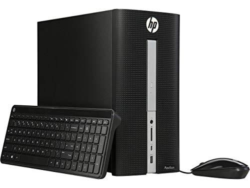 HP - Pavilion Desktop - Intel Core i3-8GB Memory - 1TB Hard Drive + 128GB Solid State Drive ()