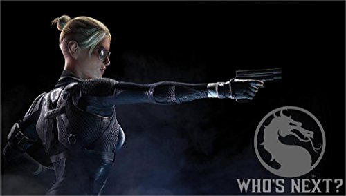 Da Bang Cassie Cage Mk Weapon Woman 20X30 Inch Poster Print