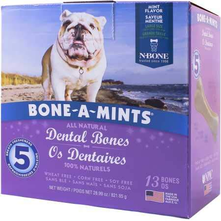 NPIC Bone-A-Mints Dental Bones – Large 13 Pack