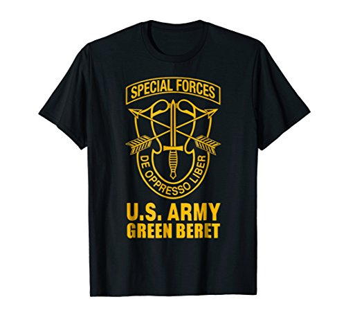 - Us Army Green Beret Special Forces TShirt