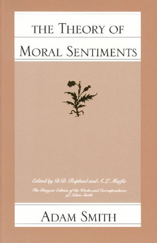 By ADAM SMITH - Theory of Moral Sentiments: 1st (first) Edition