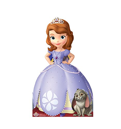 (Advanced Graphics Sofia the First Life Size Cardboard Cutout Standup - Disney Junior's Sofia the)