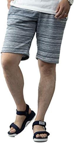 ハーフパンツ メンズ 杢柄 スウェット スエット 膝上 短め 膝丈 黒 白 紺 スウェットパンツ ハーフパンツ ショーツ イージーパンツ ルームウェア リラクシングウェア ワンマイルウェア 部屋着 パジャマ スポーツ フィットネス