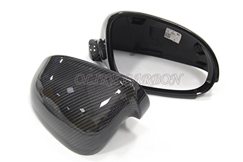 Replacement Carbon Fiber Rear Side Mirror Cover for Volkswagen VW Golf 5 MK5 GTI JETTA Mk5 GTi Mk5