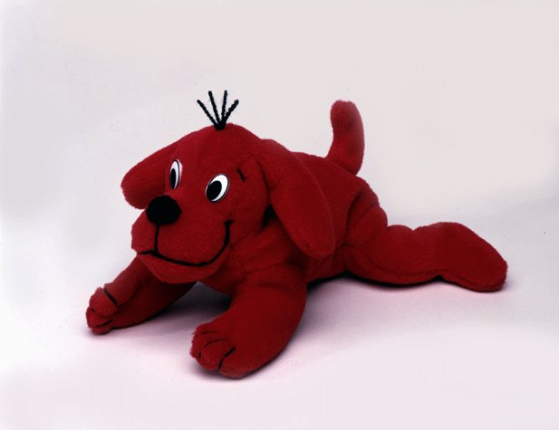 Clifford The Big Red Dog - Bean Bag Stuffed Toy